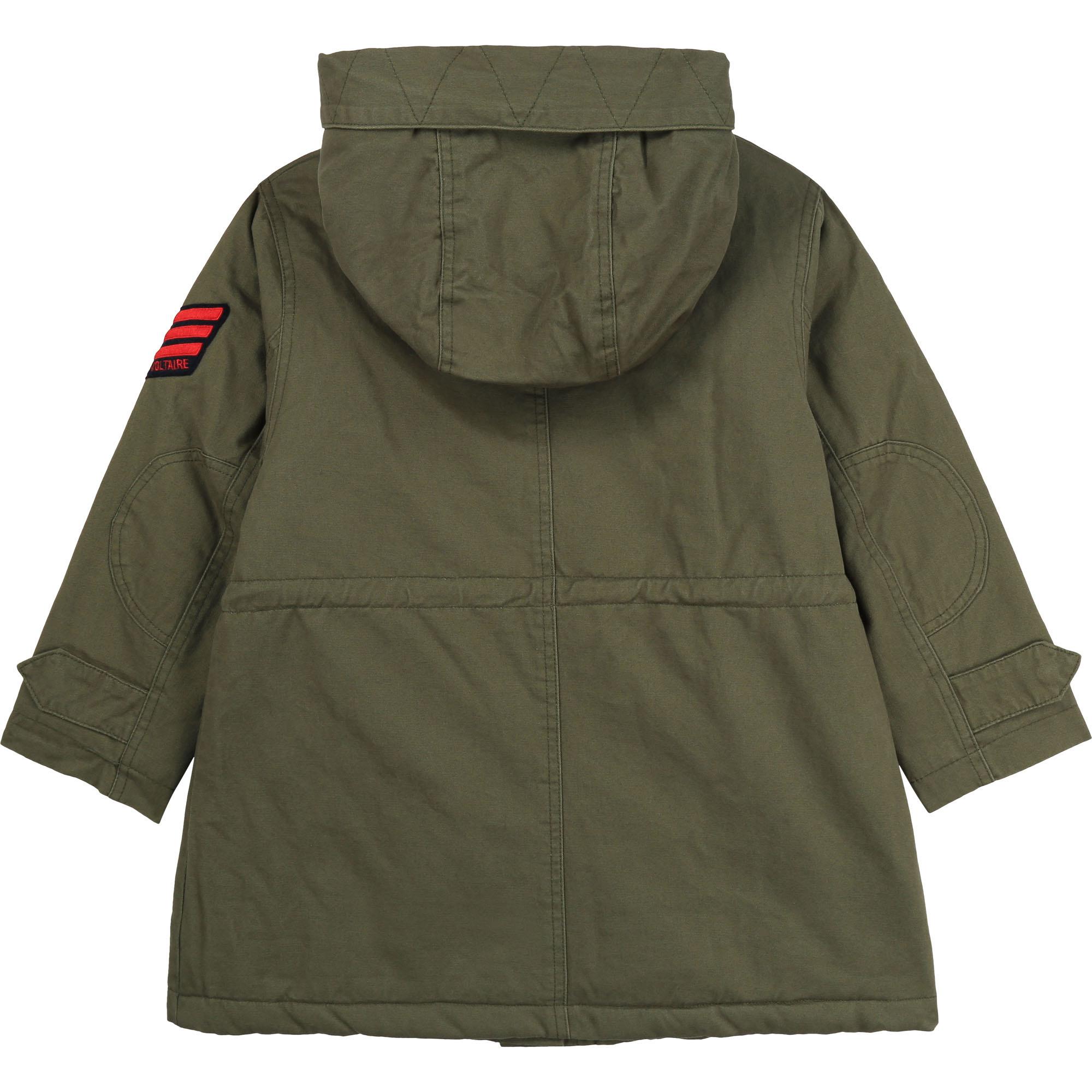 ZADIG&VOLTAIRE veste parka à capuche en coton-2