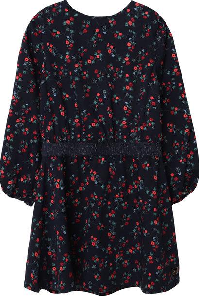 CARREMENT BEAU robe en viscose à fleurs