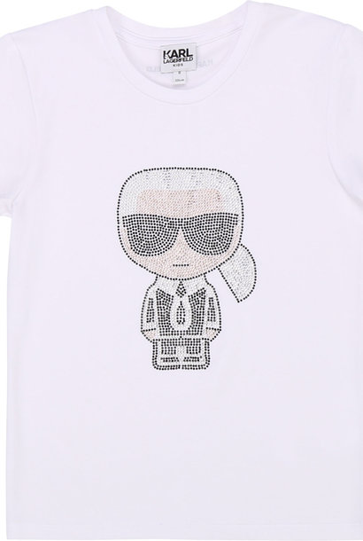 KARL LAGERFELD t-shirt en coton et modal