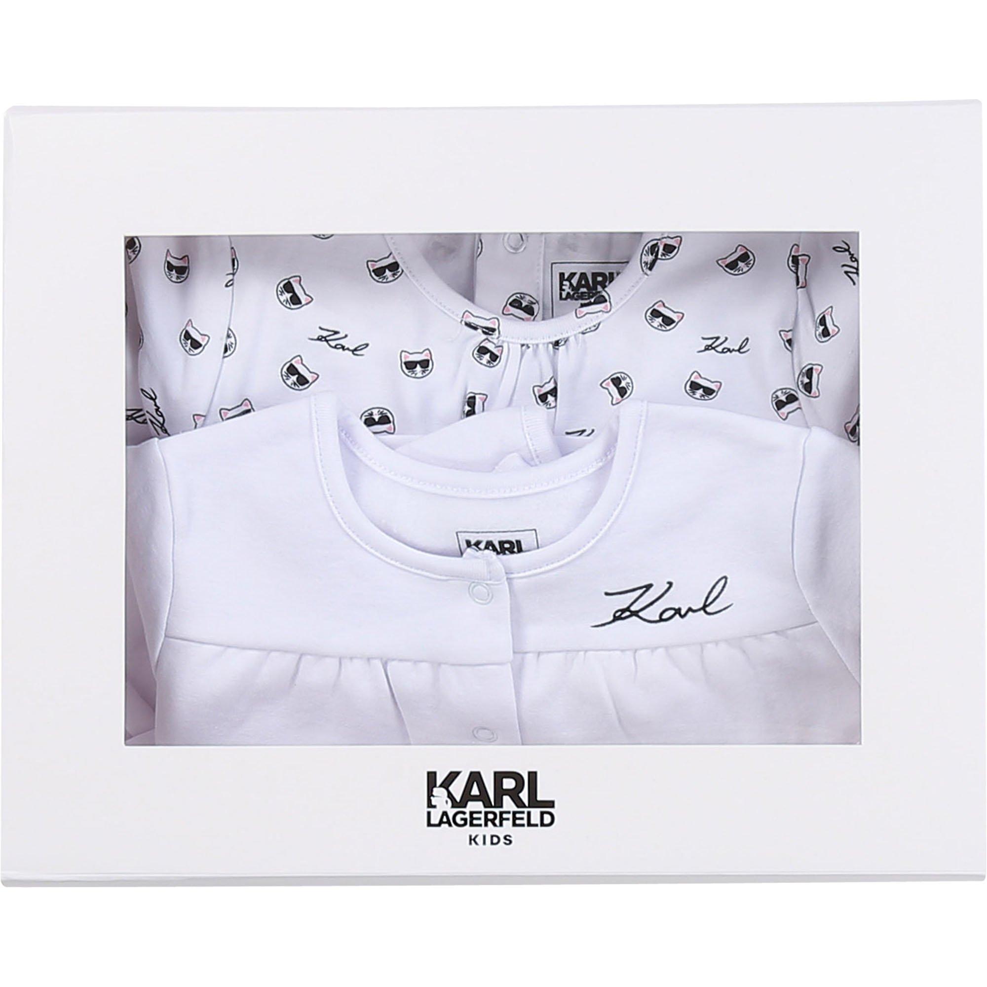 KARL LAGERFELD KIDS pyjama cardigan jersey coton-3