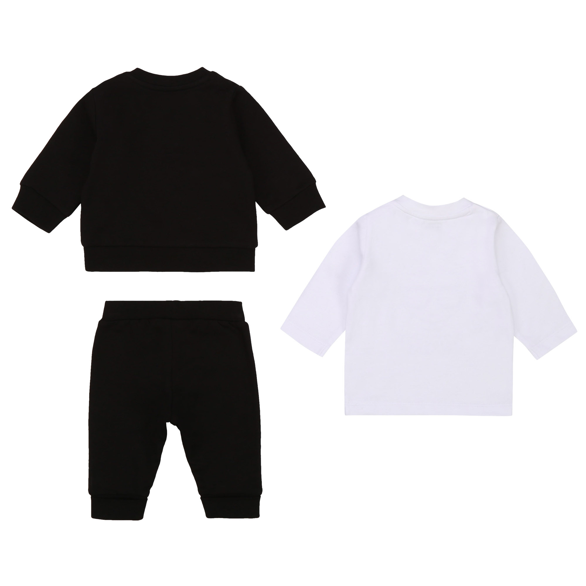 KARL LAGERFELD KIDS jogging 3 pièces jersey coton-2
