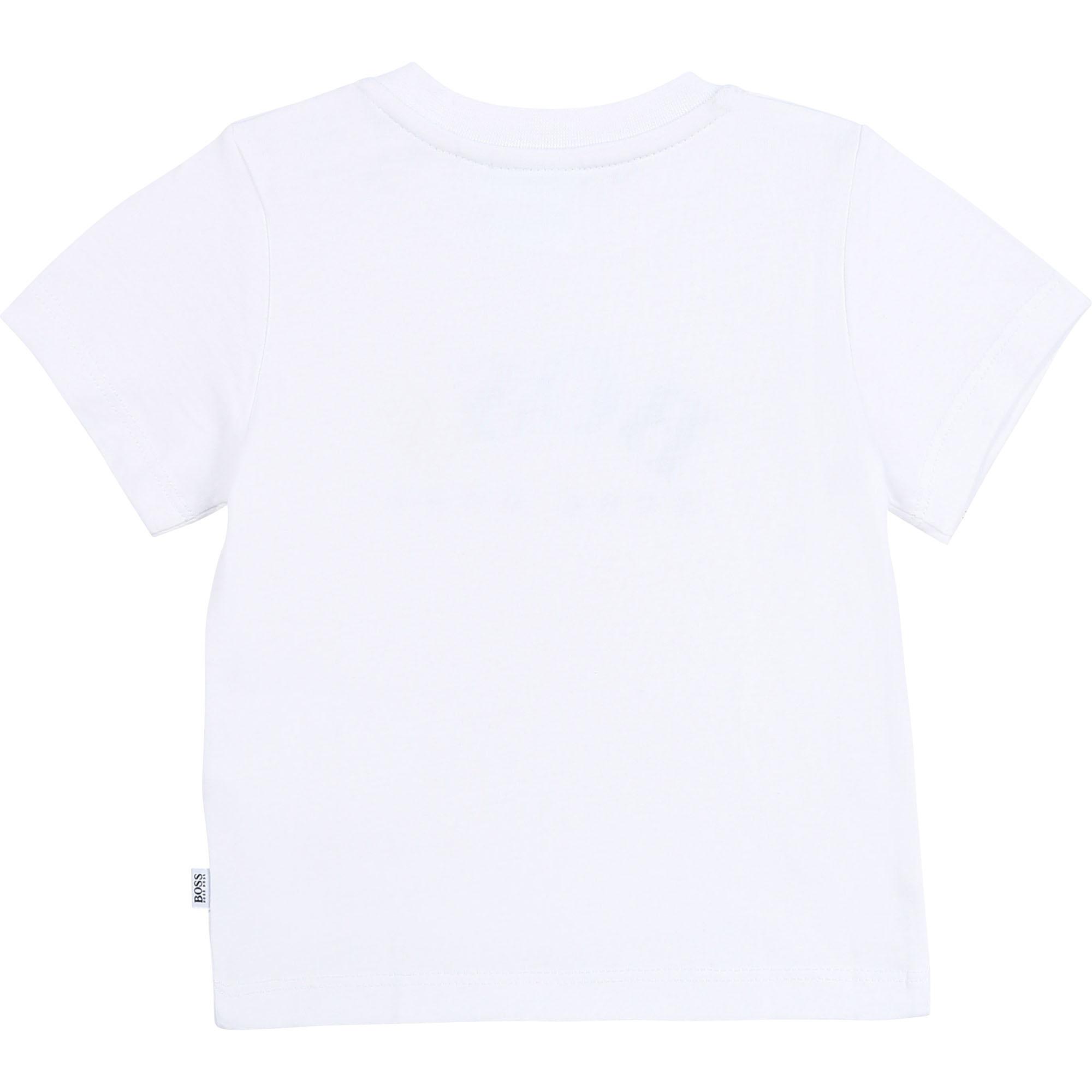 BOSS t-shirt en jersey de coton-2