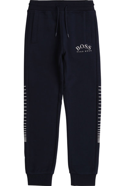 BOSS pantalon de jogging brodé