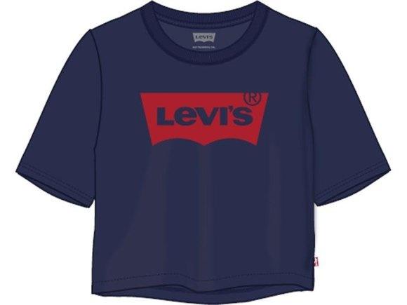 LEVIS t-shirt coton blue-1