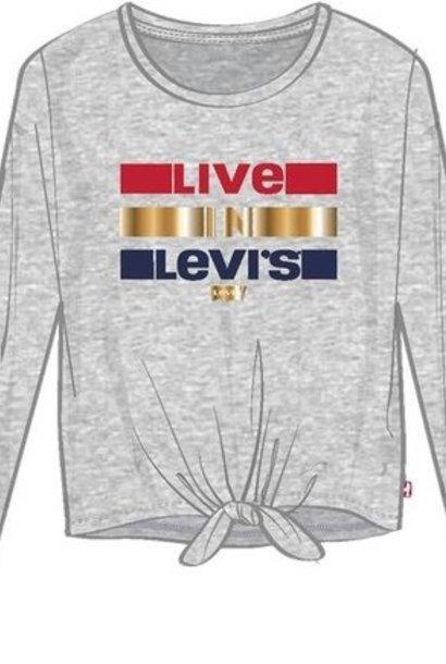 LEVIS t-shirt tie front tie