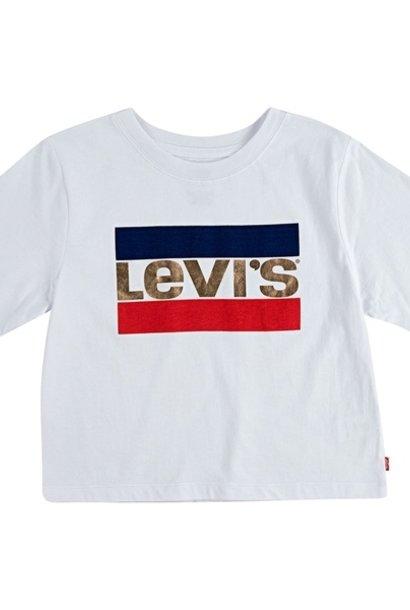 LEVIS high rise t-shirt