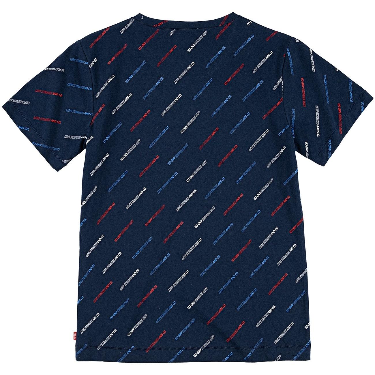 LEVIS t-shirt graphic dress blue-4