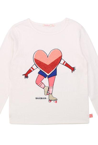 BILLIEBLUSH t-shirt en coton avec imprimé