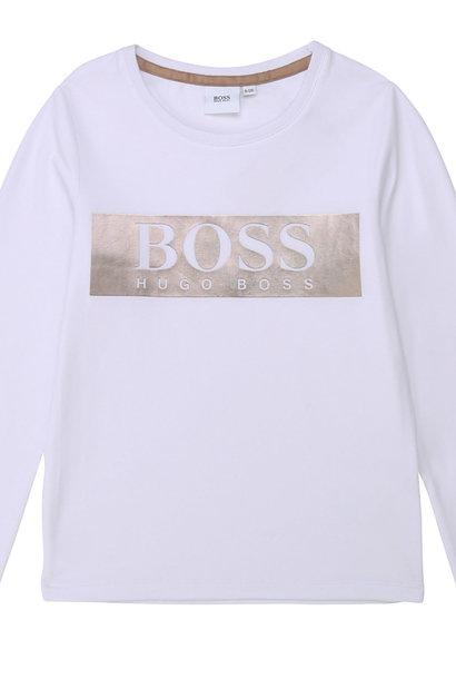 BOSS t-shirt en jersey de coton