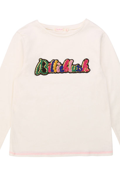 BILLIEBLUSH t-shirt en coton patch brodé