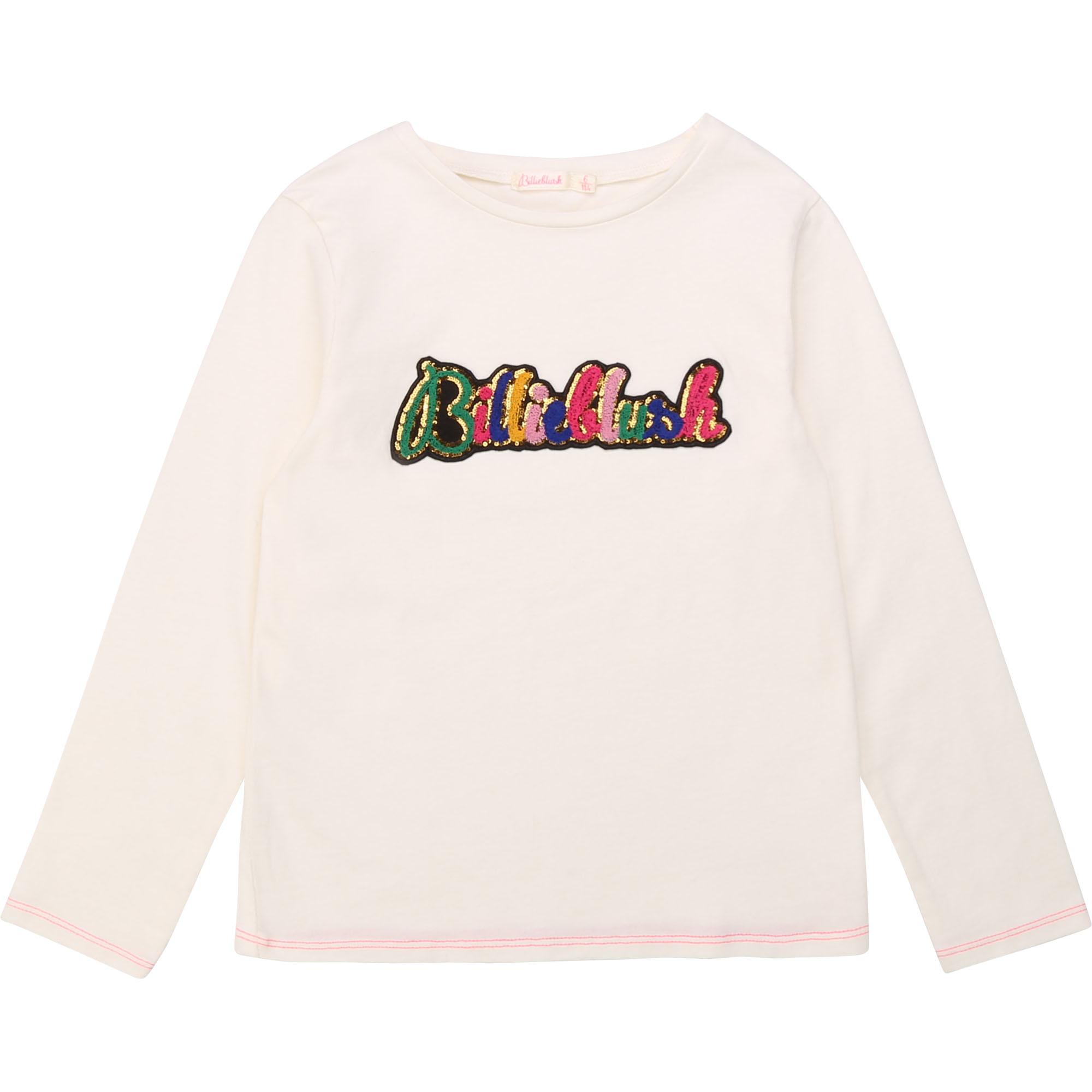 BILLIEBLUSH t-shirt en coton patch brodé-1