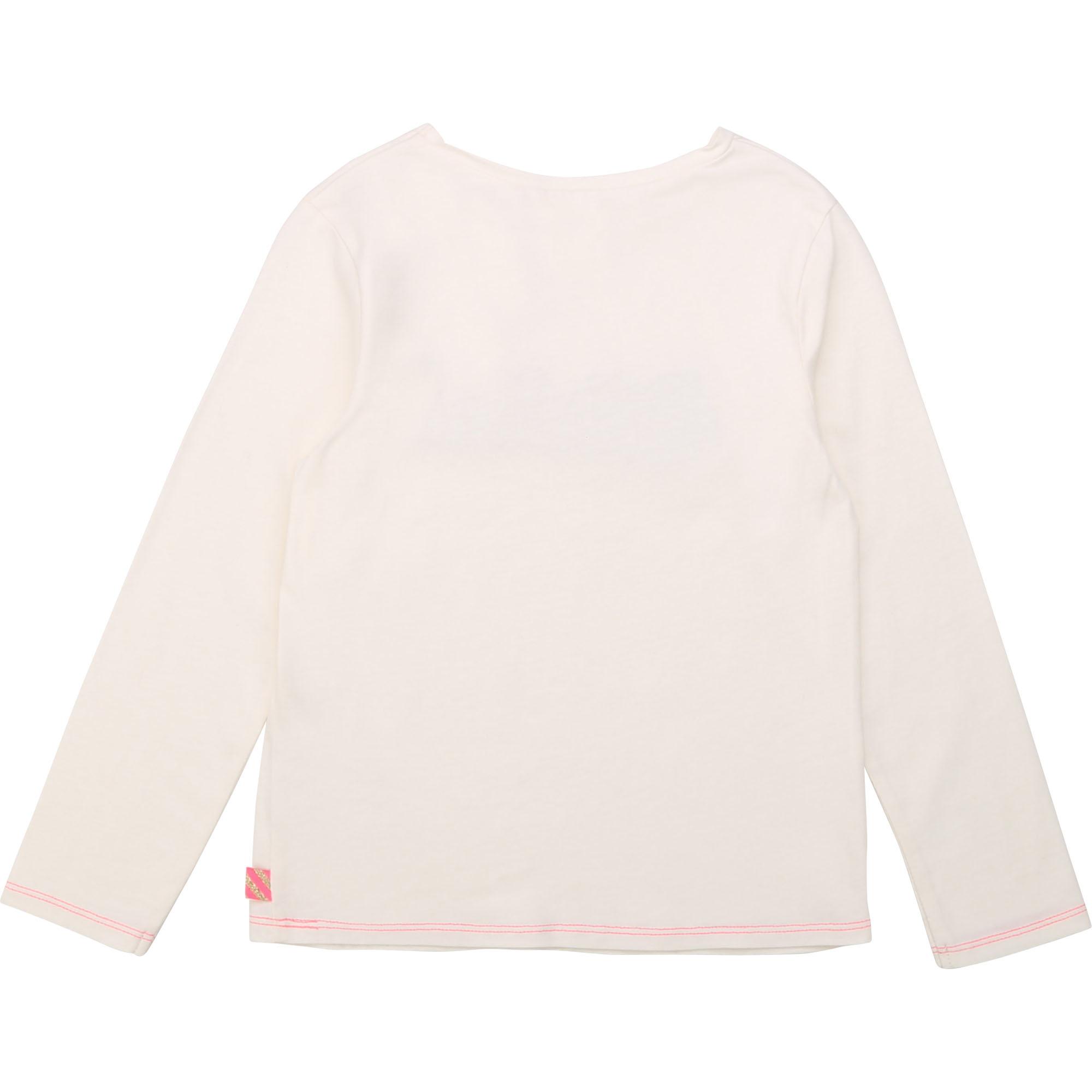 BILLIEBLUSH t-shirt en coton patch brodé-2
