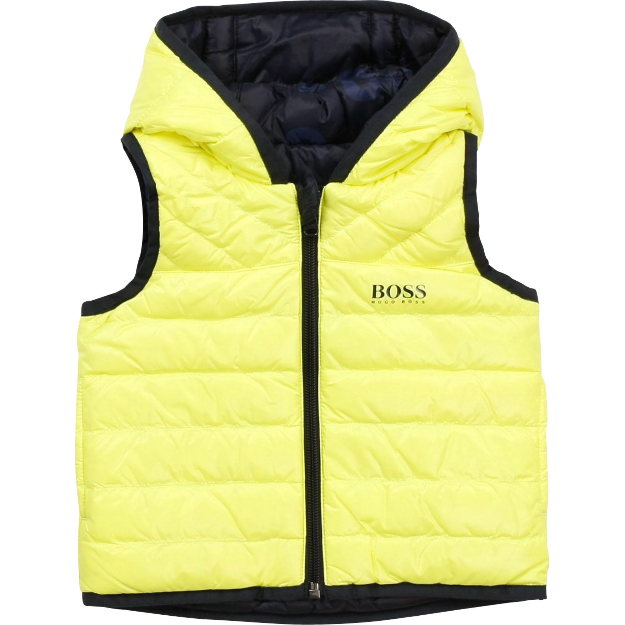 BOSS veste doudoune réversible à capuche-1