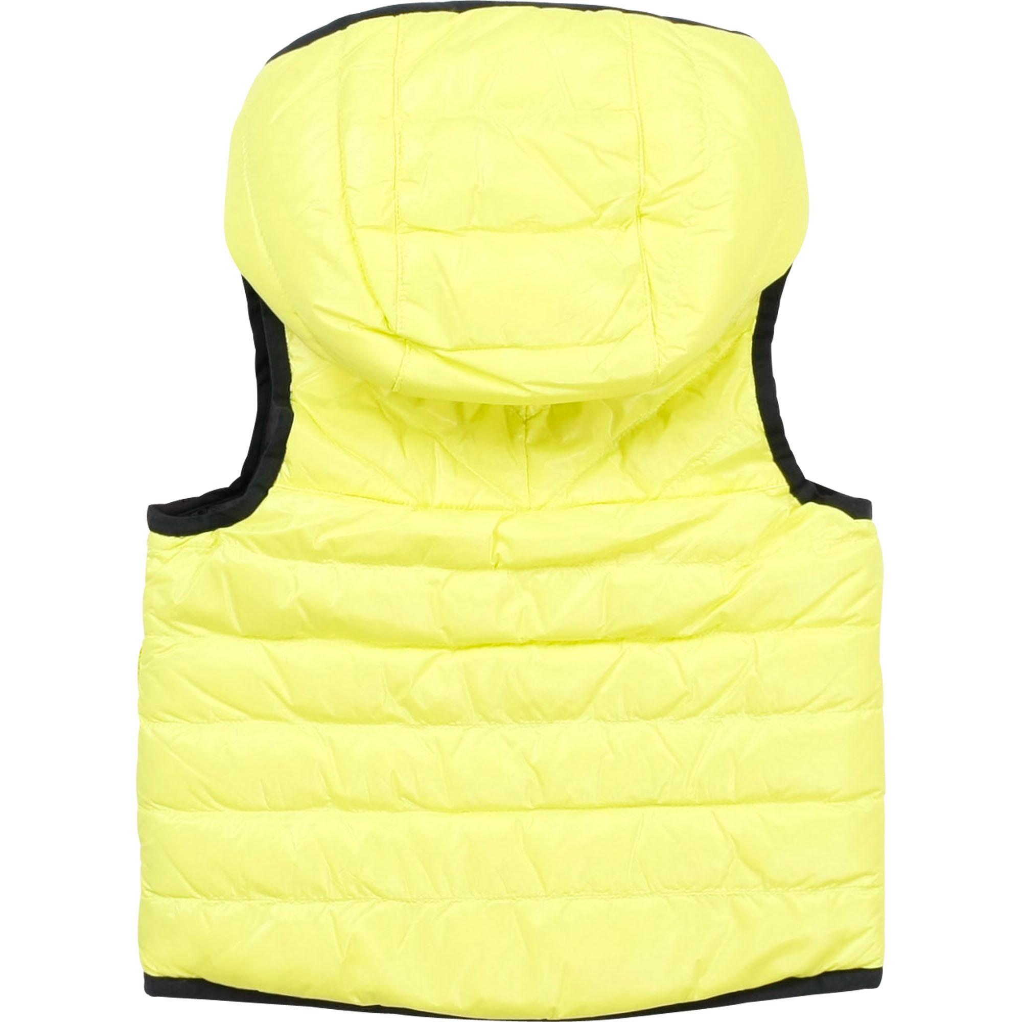 BOSS veste doudoune réversible à capuche-2