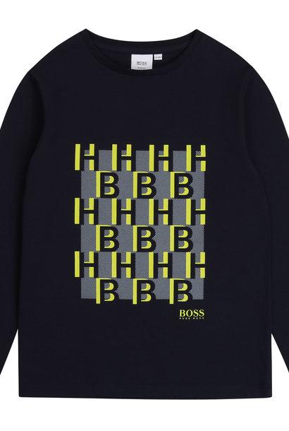 BOSS t-shirt avec imprimé