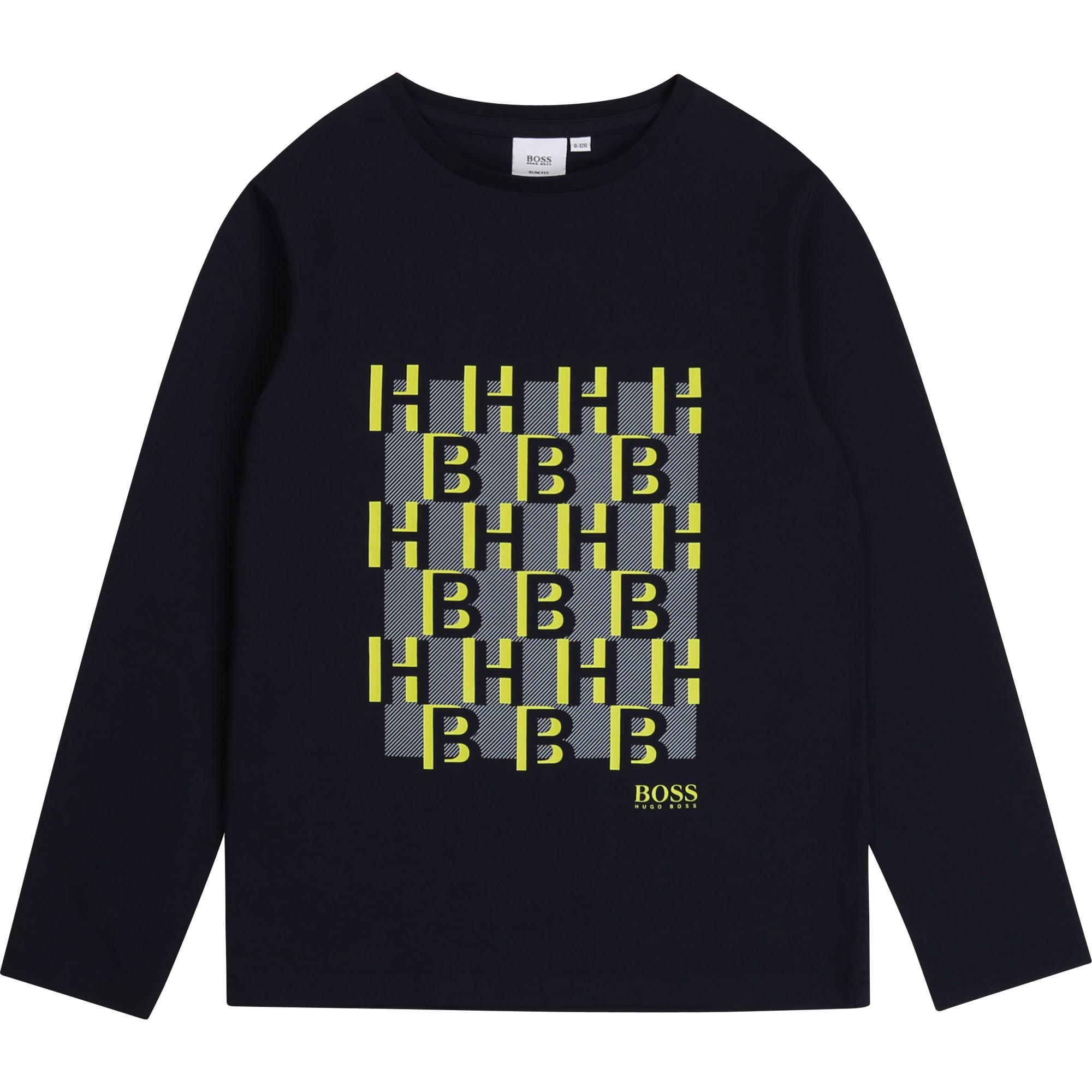 BOSS t-shirt avec imprimé-1