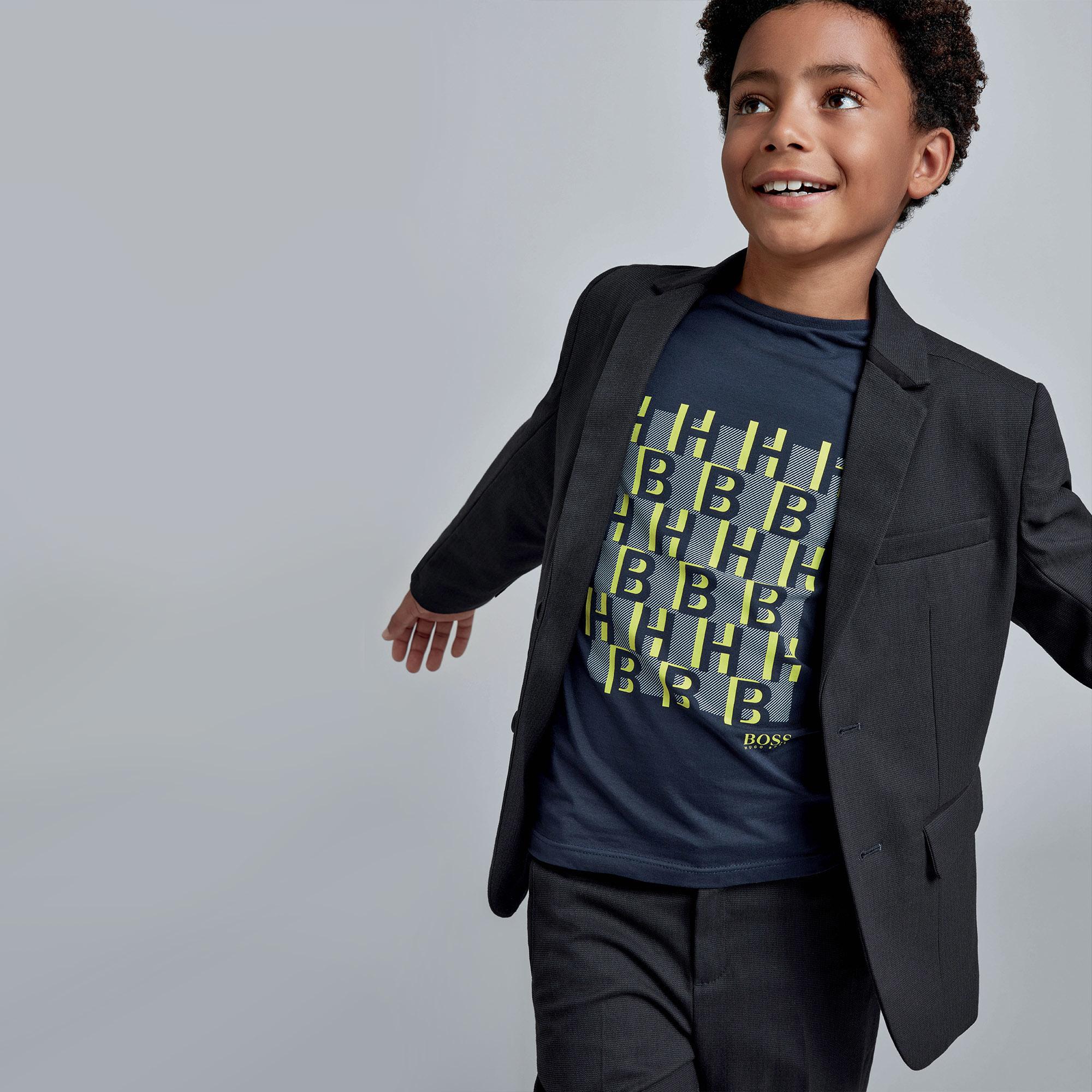BOSS t-shirt avec imprimé-4