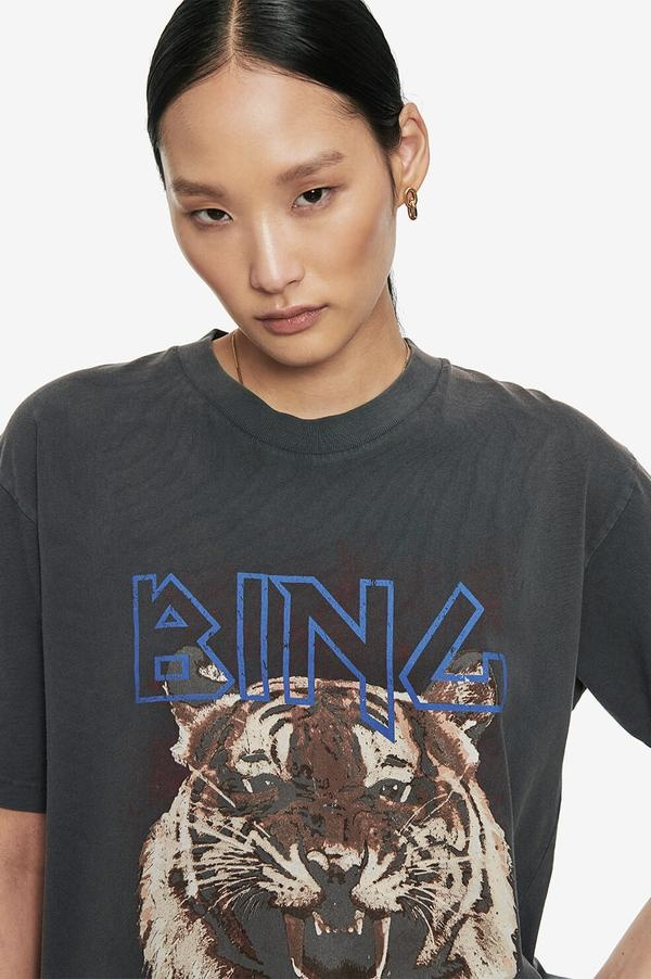 ANINE BING t-shirt tiger-2