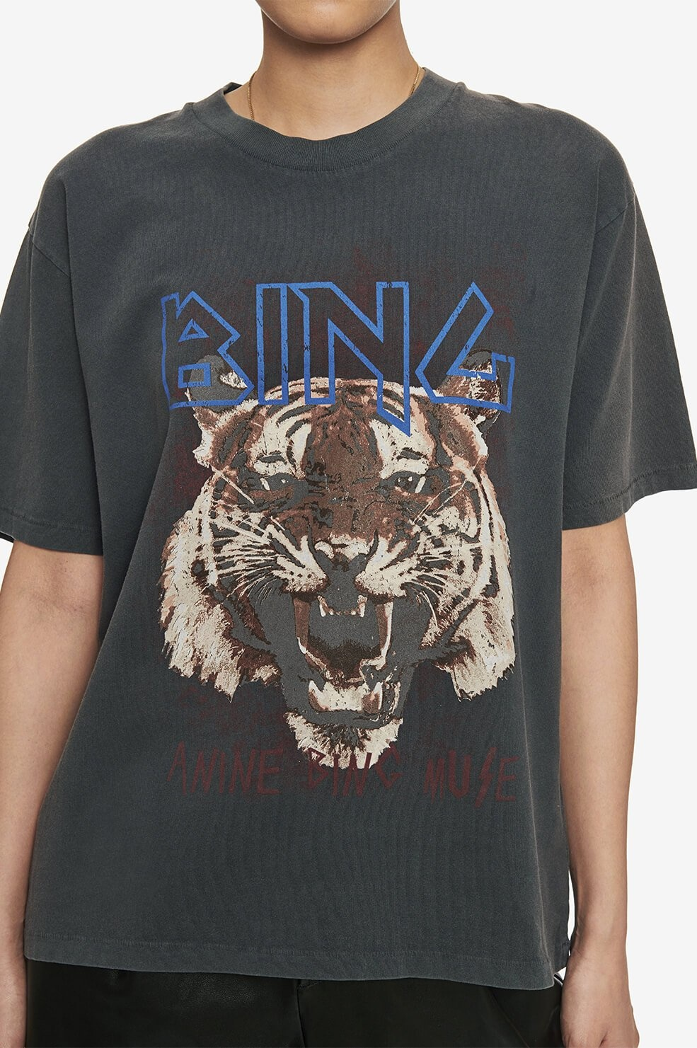 ANINE BING t-shirt tiger-3
