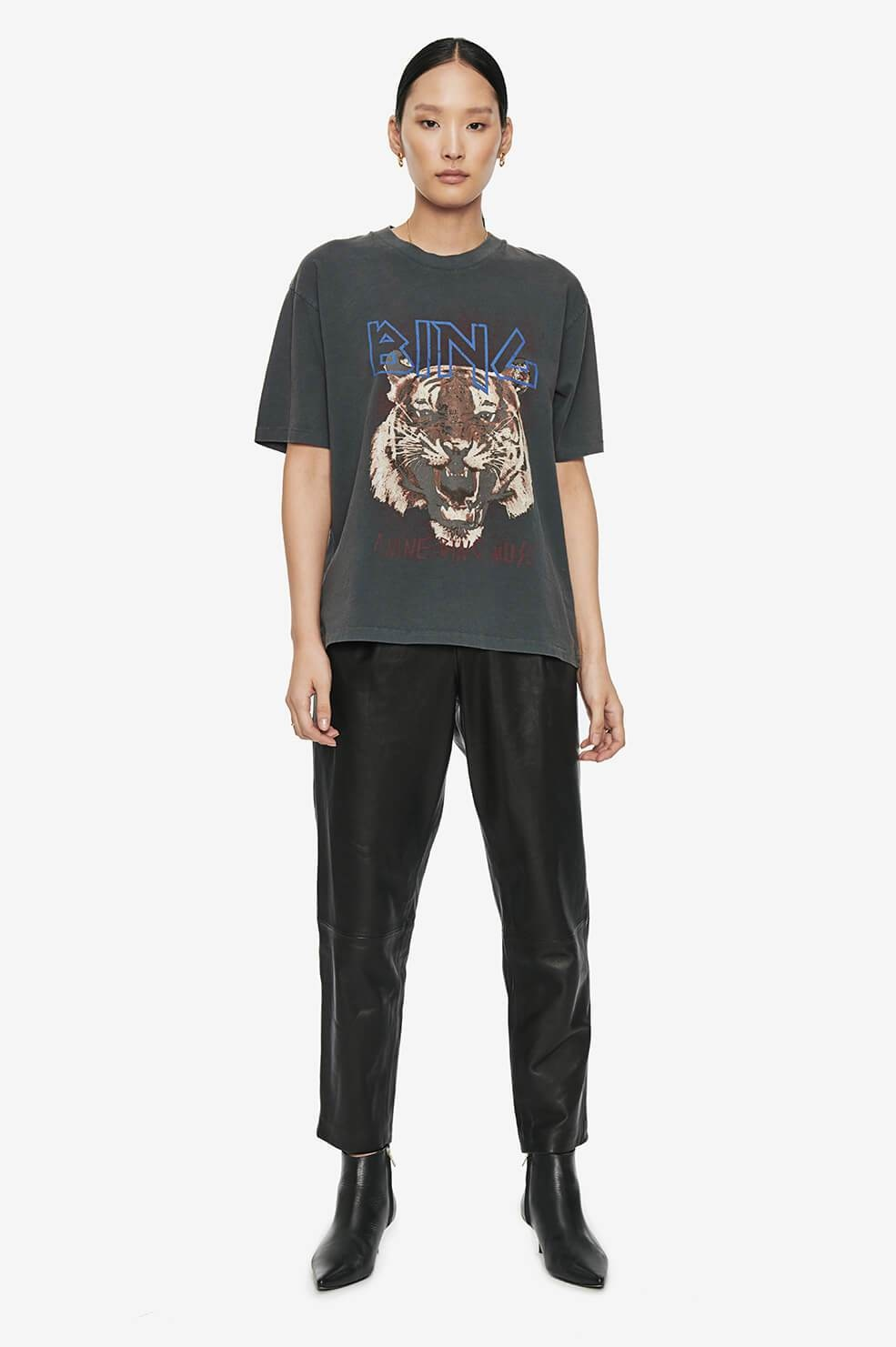 ANINE BING t-shirt tiger-4