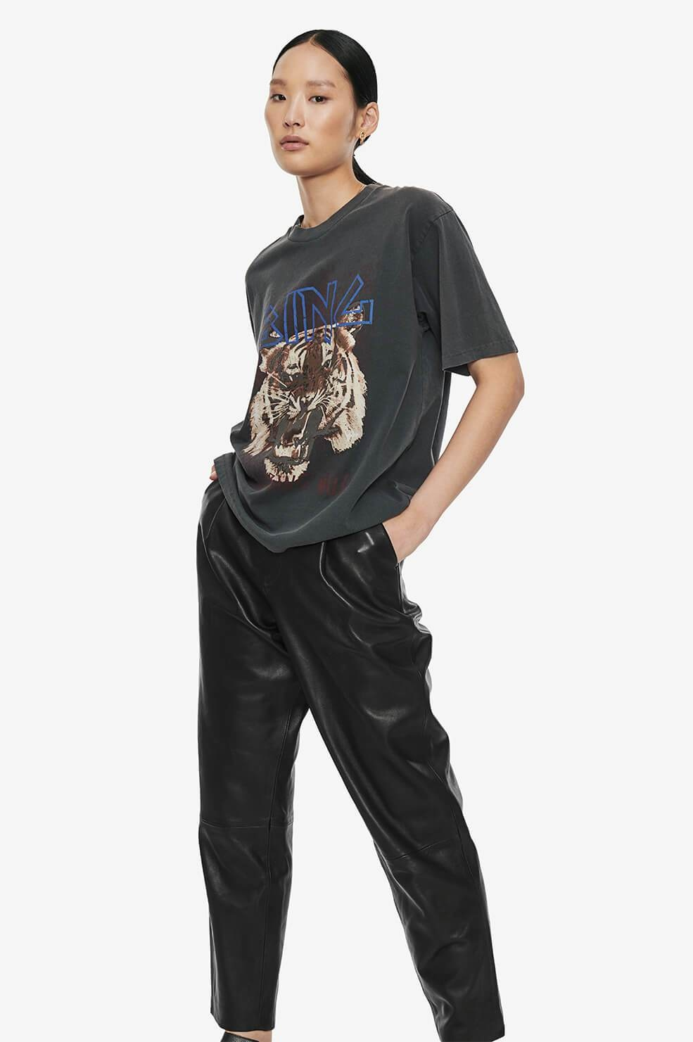 ANINE BING t-shirt tiger-5