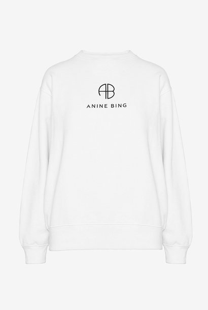ANINE BING sweat monogram