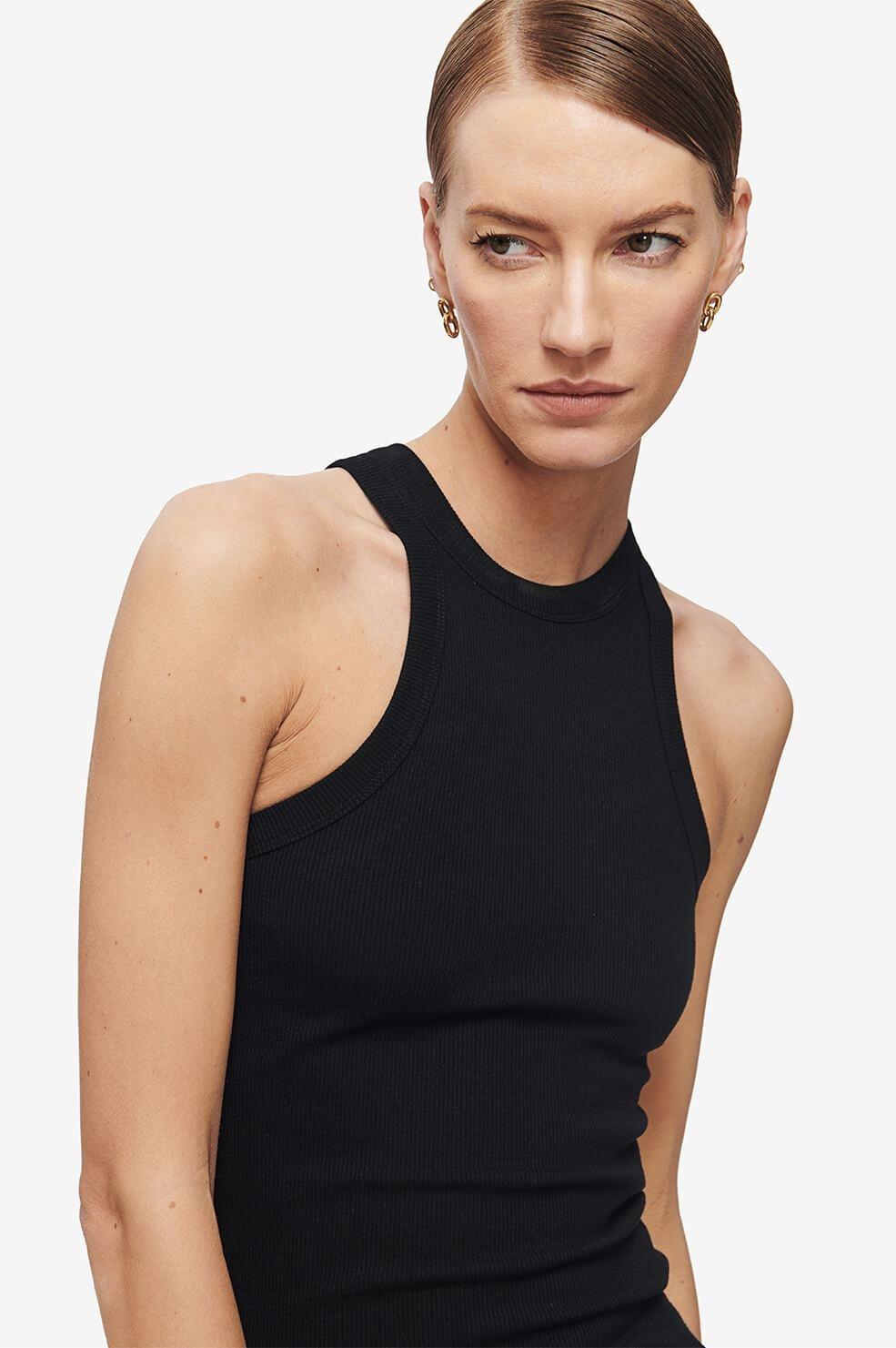 ANINE BING blouse eva noire-3
