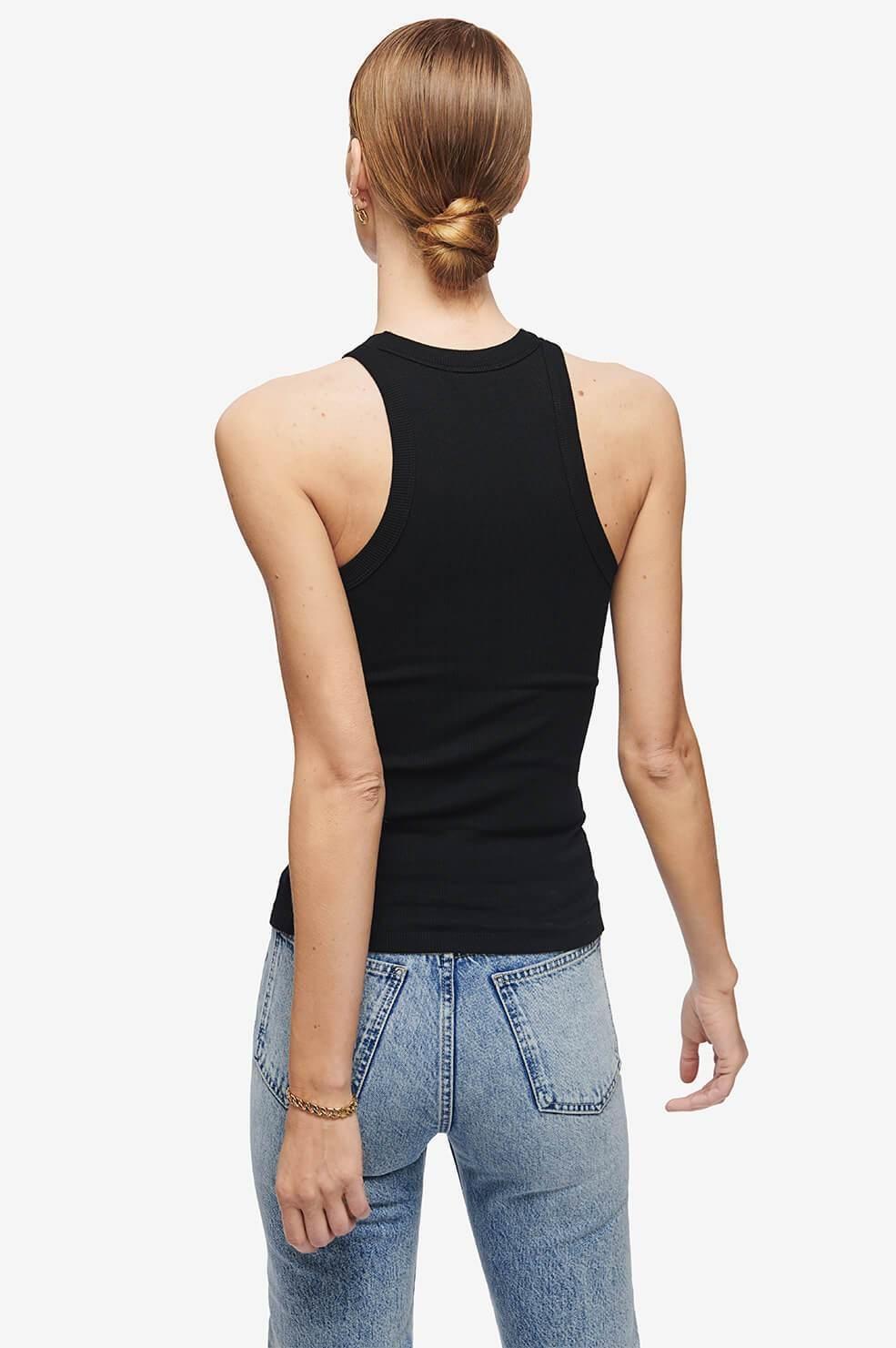 ANINE BING blouse eva noire-7