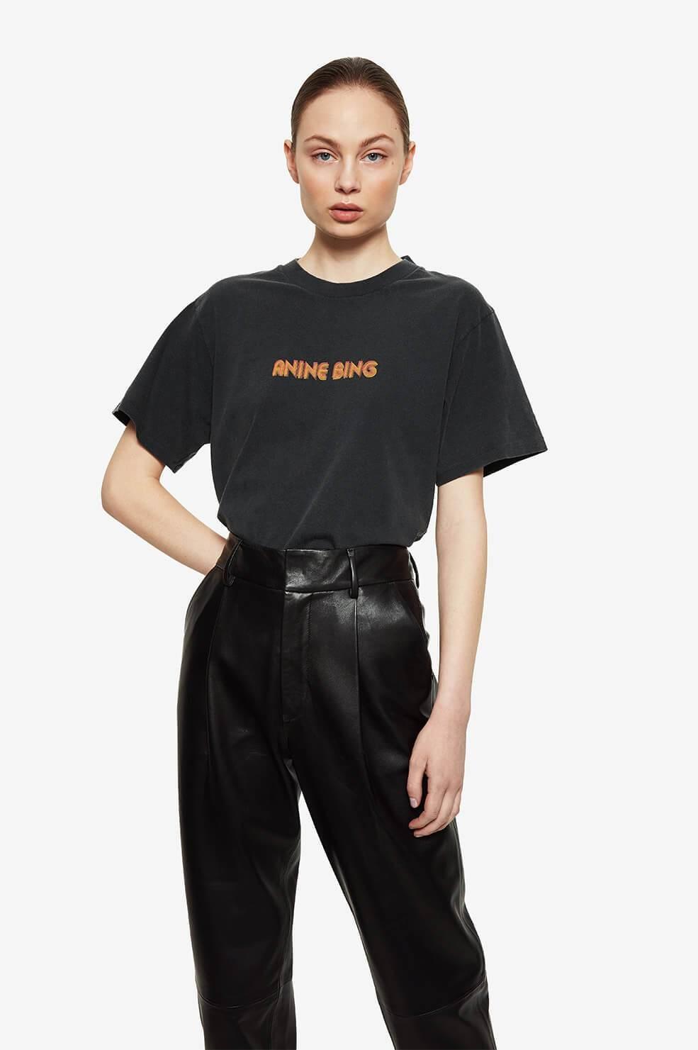 ANINE BING t shirt lili retro-2