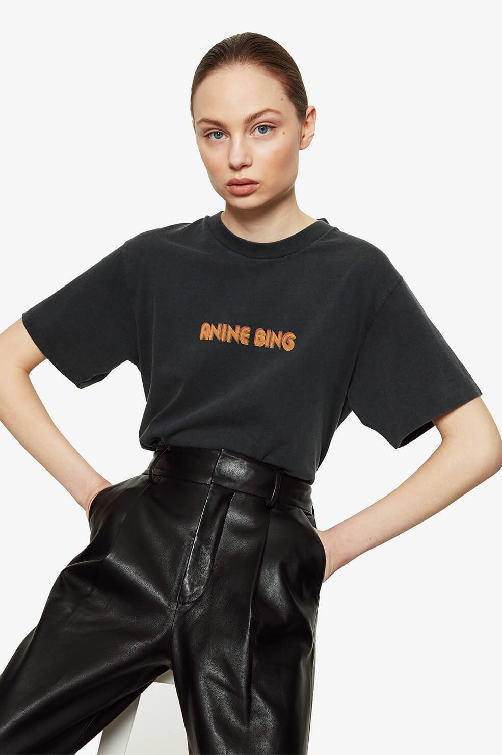 ANINE BING t shirt lili retro-4