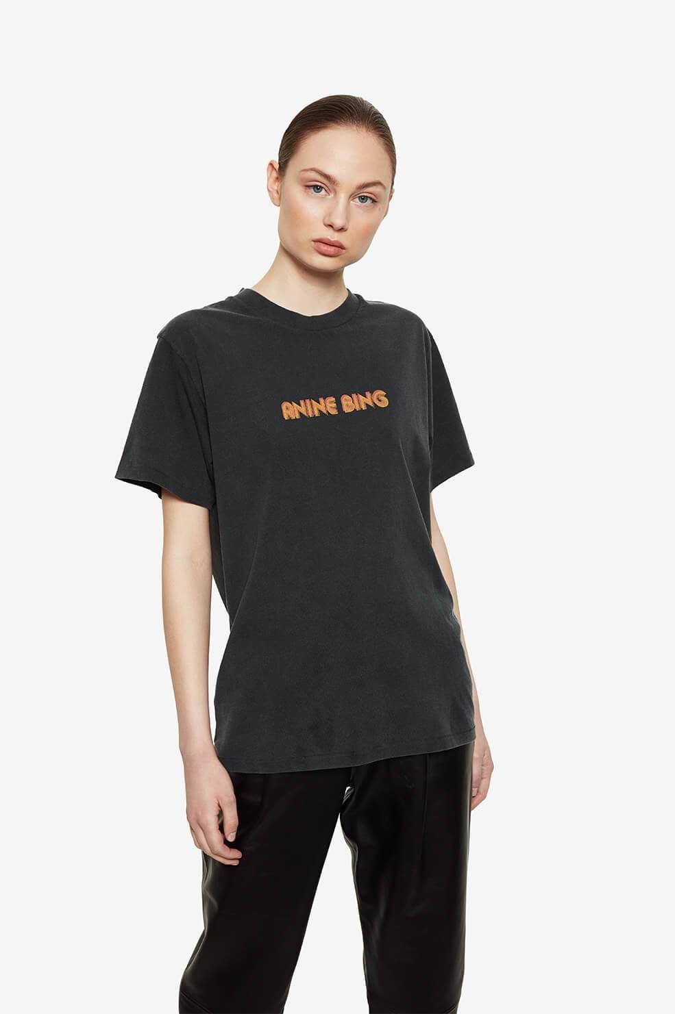 ANINE BING t shirt lili retro-5