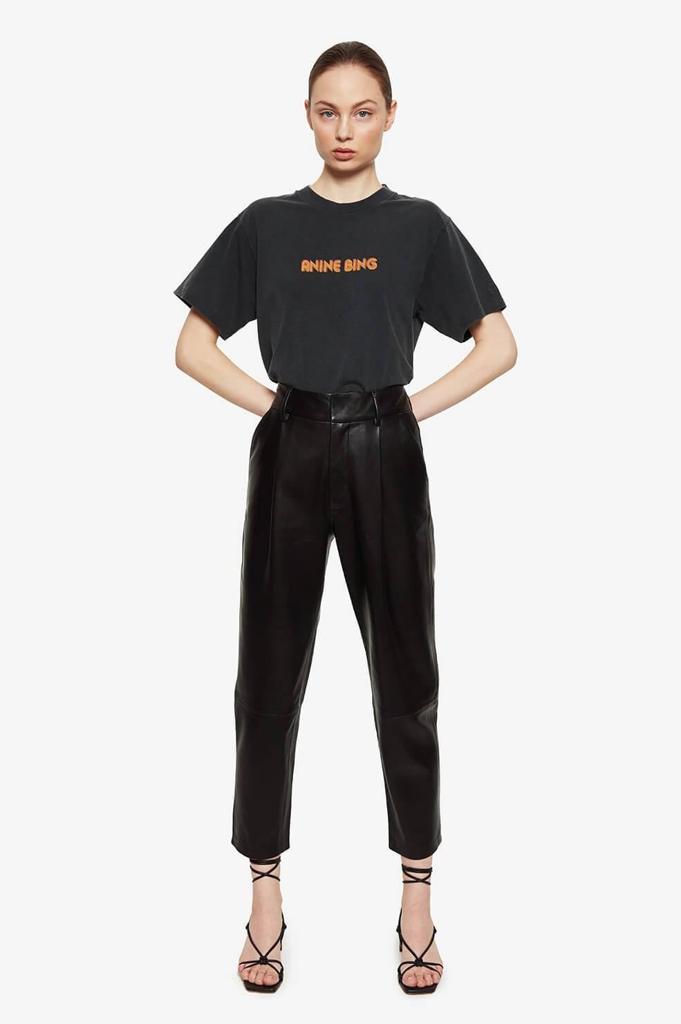 ANINE BING t shirt lili retro-6