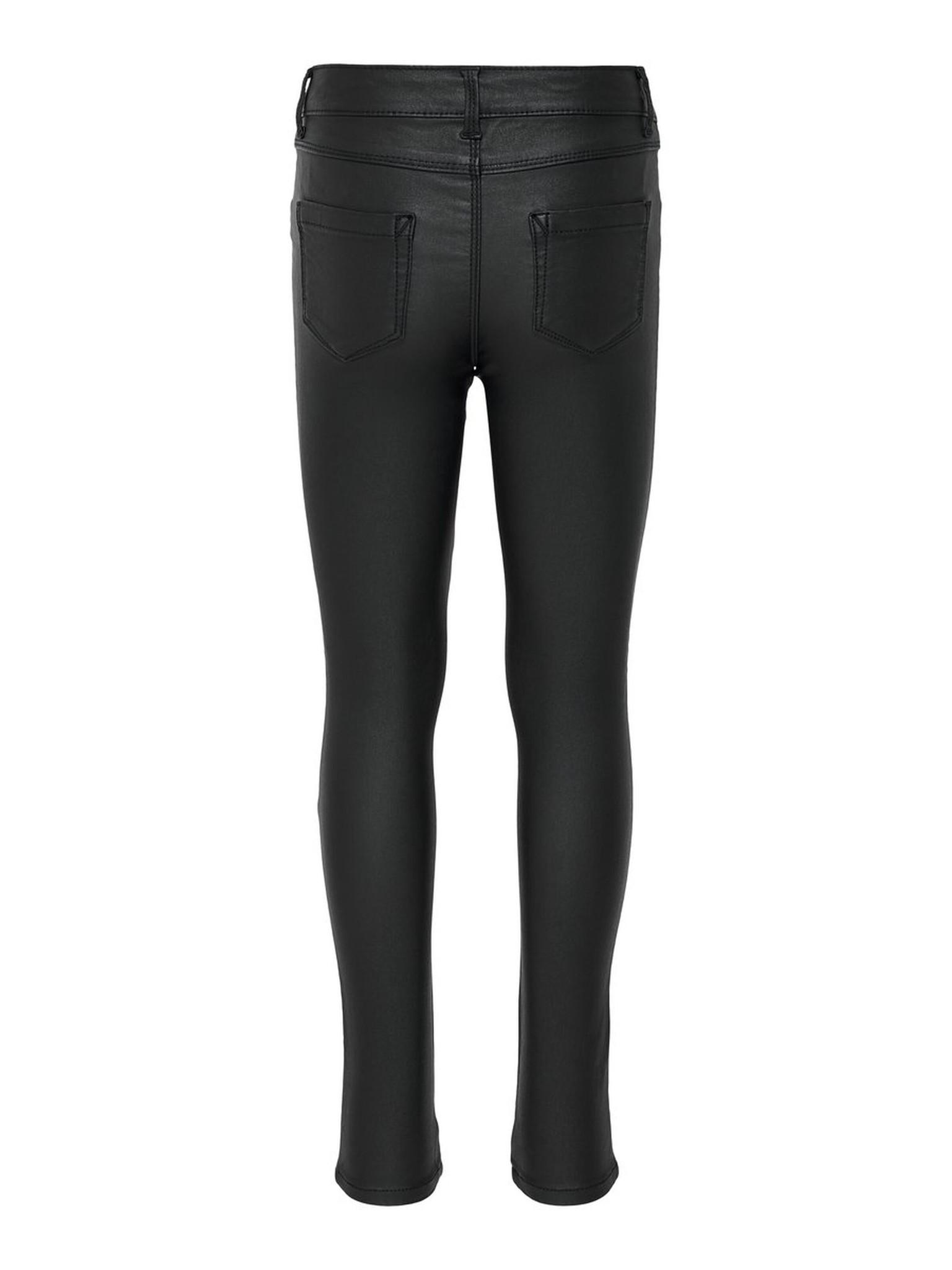 ONLY pantalon enduit-2