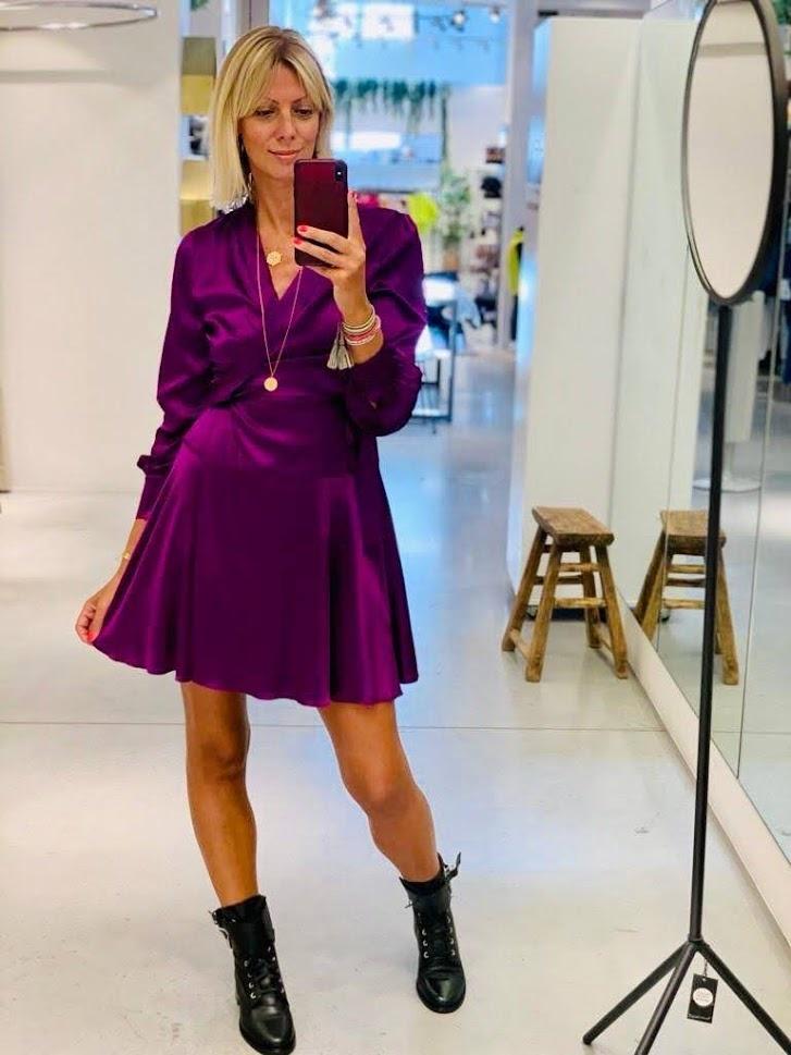 DREAMCATCHER robe purple-1
