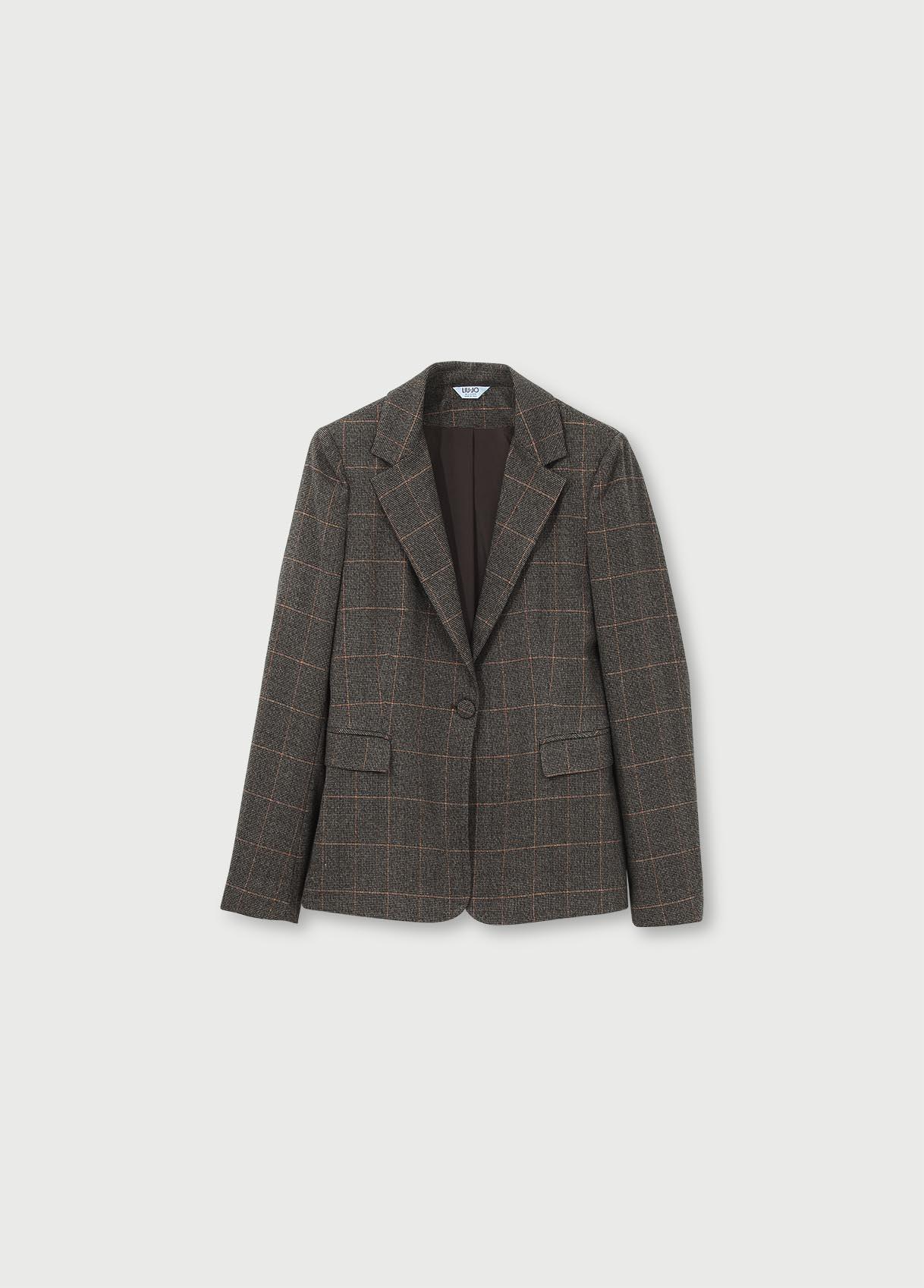 LIU JO blazer jacquard-1