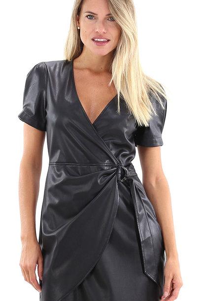 LIUJO robe cuir écologique