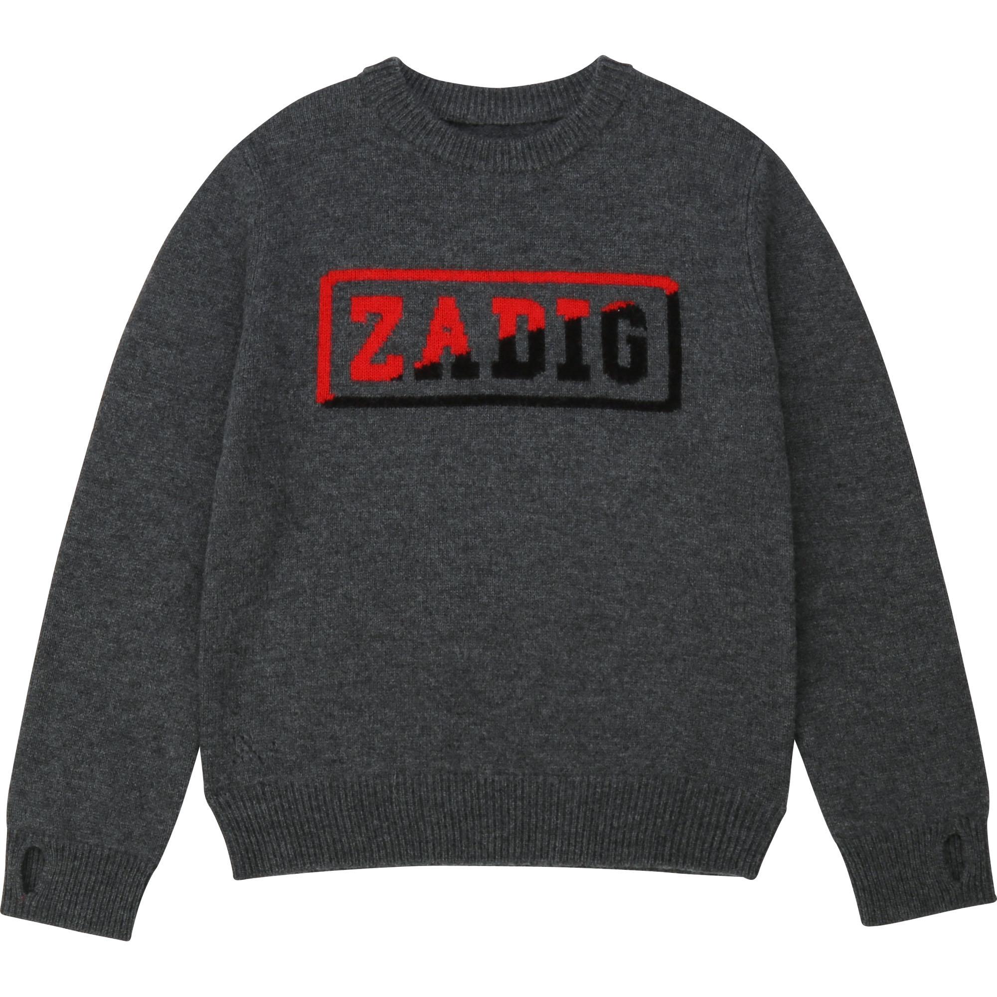 ZADIG&VOLTAIRE pull en laine et cachemire-1