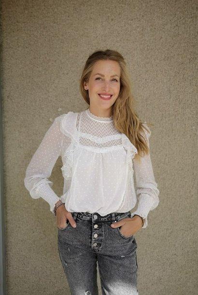 PEPITES blouse amélie