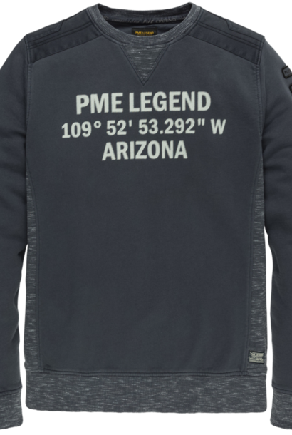 PME pull r-neck dry terry