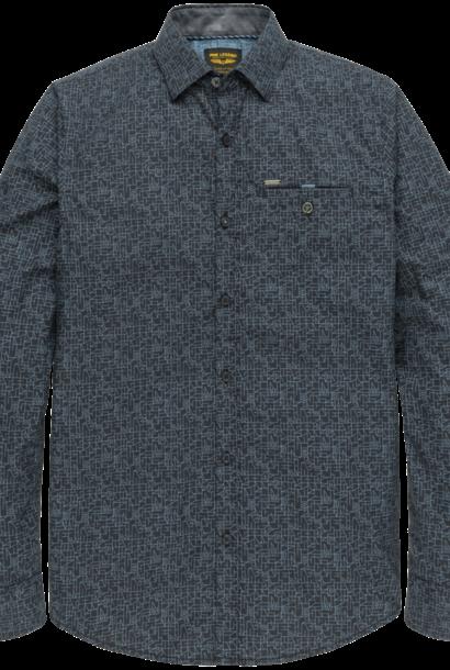 PME chemise à manche longue en popeline avec imprimé all-over