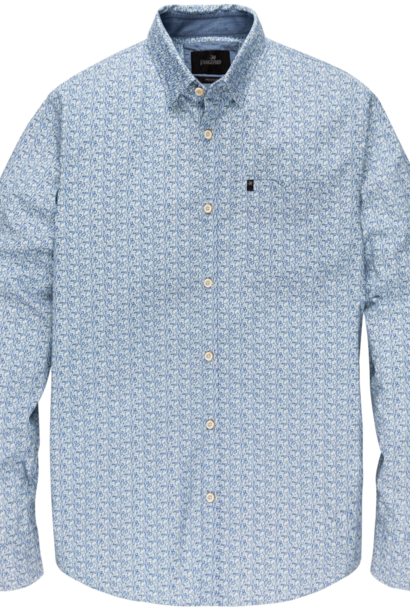 VANGUARD chemise long sleeve shirt on poplin stretch