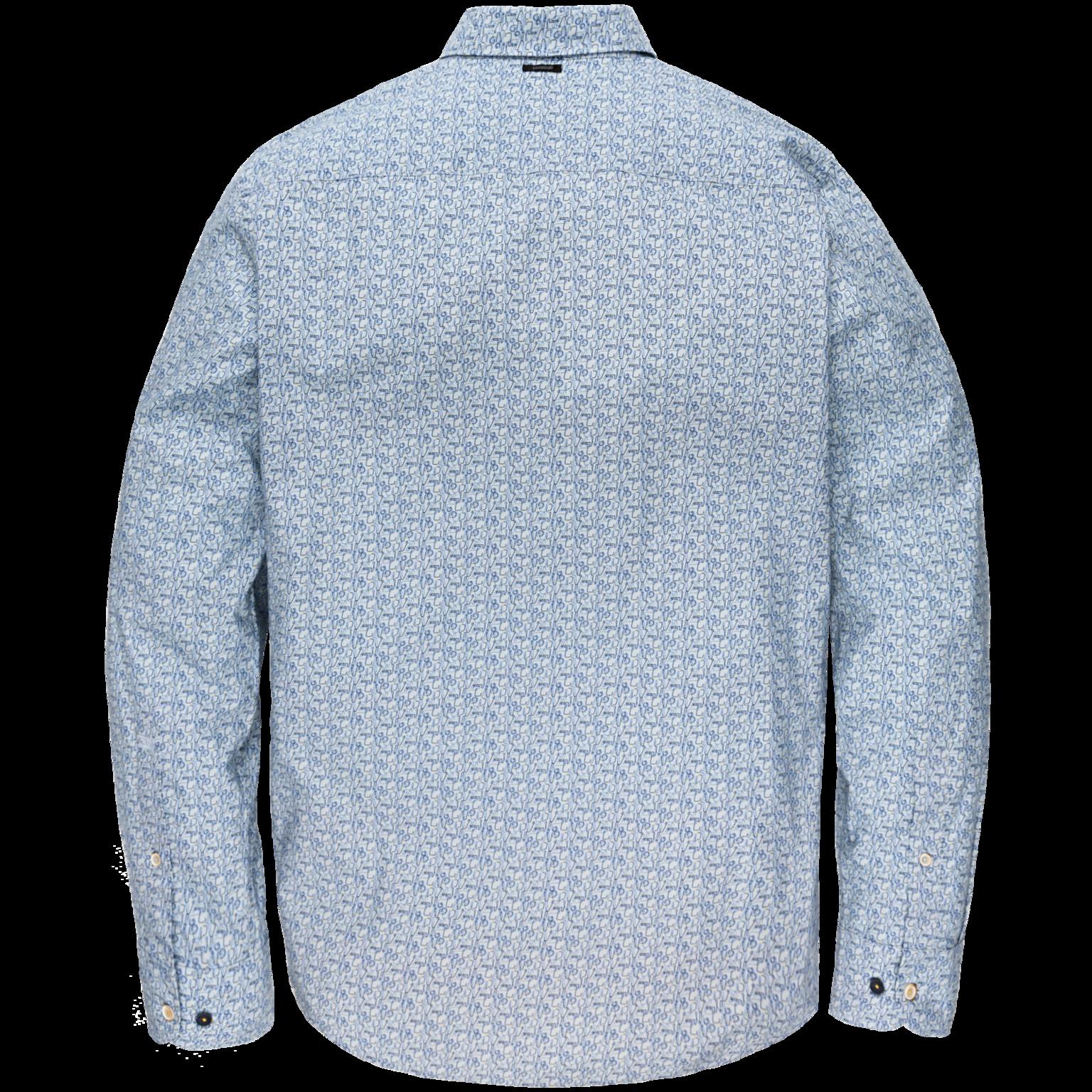 VANGUARD chemise long sleeve shirt on poplin stretch-2