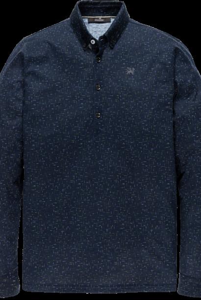 VANGUARD chemise long sleeve polo jersey mercerized