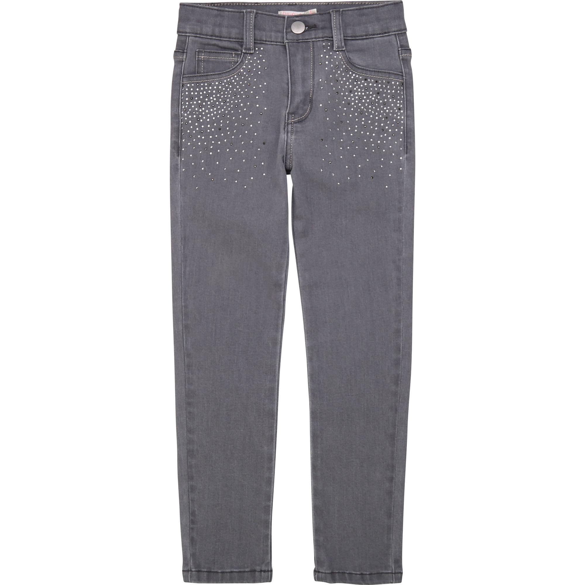BILLIEBLUSH jeans avec strass-1