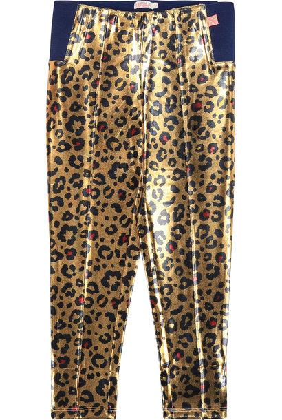 BILLIEBLUSH pantalon à motif léopard