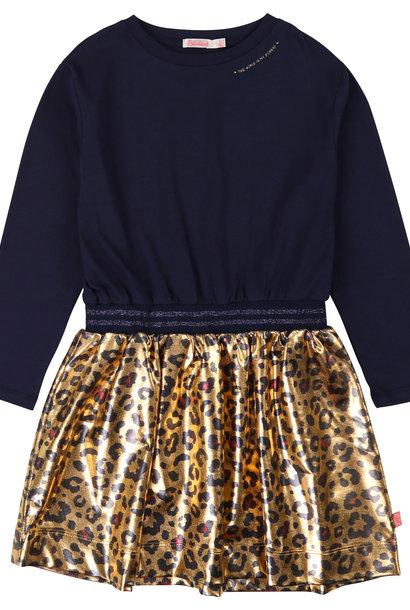 BILLIEBLUSH robe bimatière taille irisée