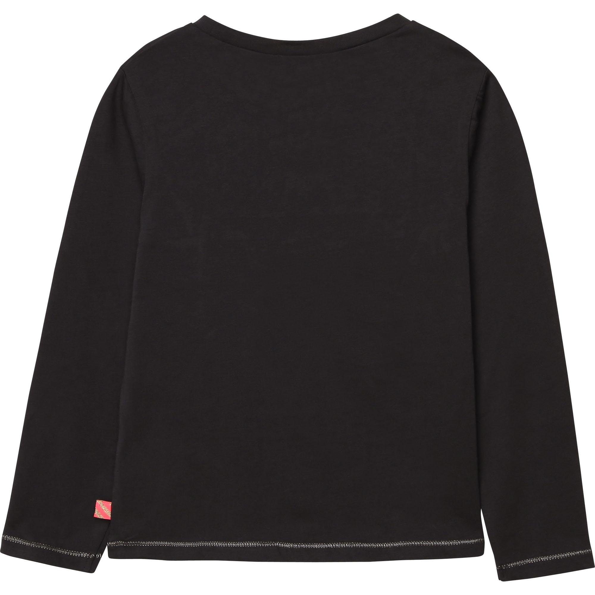 BILLIEBLUSH pull en coton avec imprimé-2
