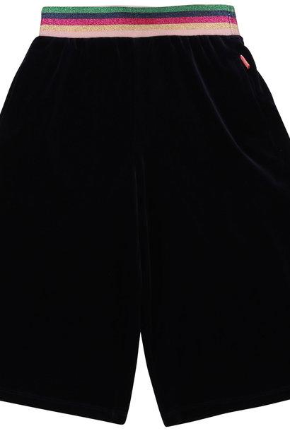 BILLIEBLUSH jupe-culotte en velour ras