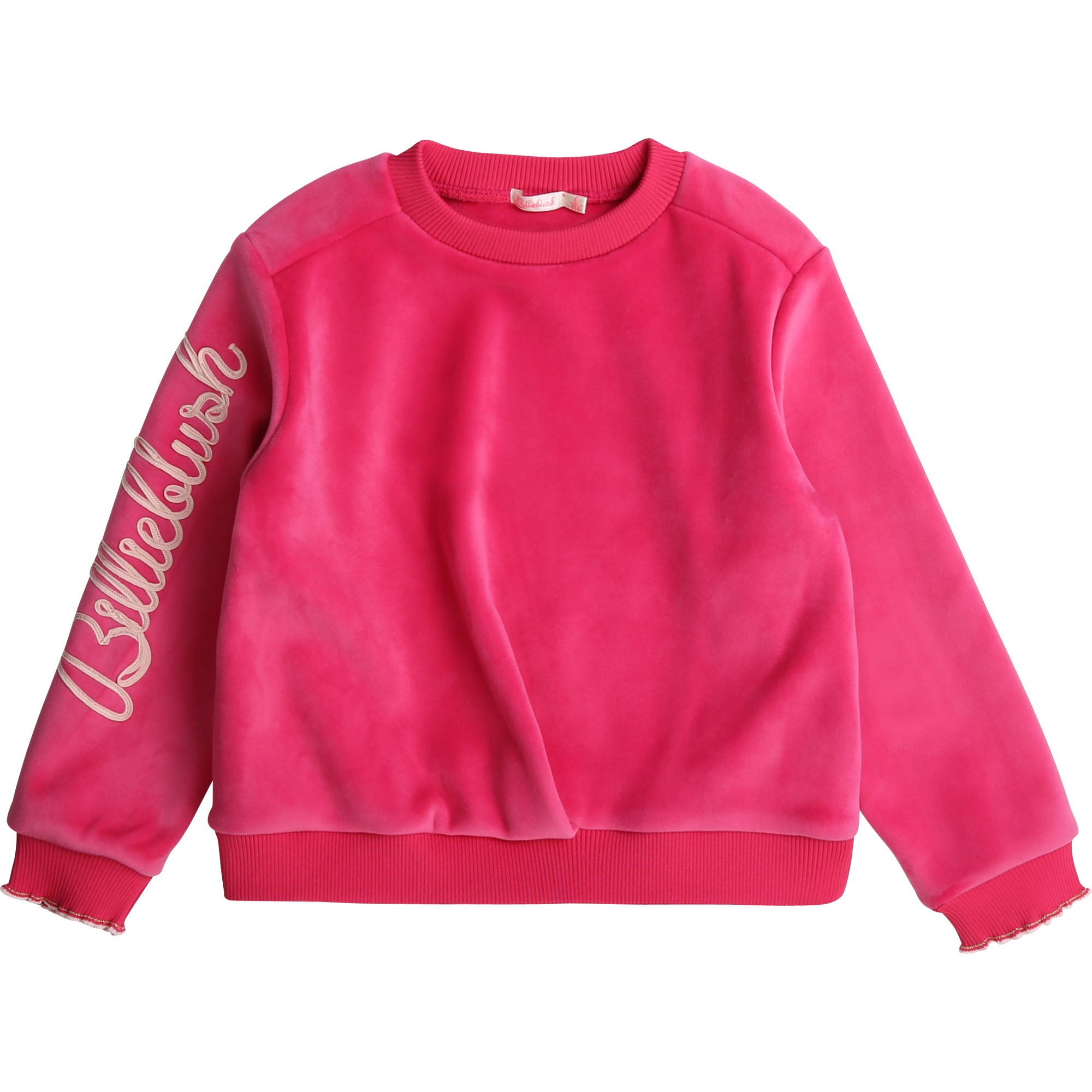 BILLIEBLUSH sweat en molleton velours-1