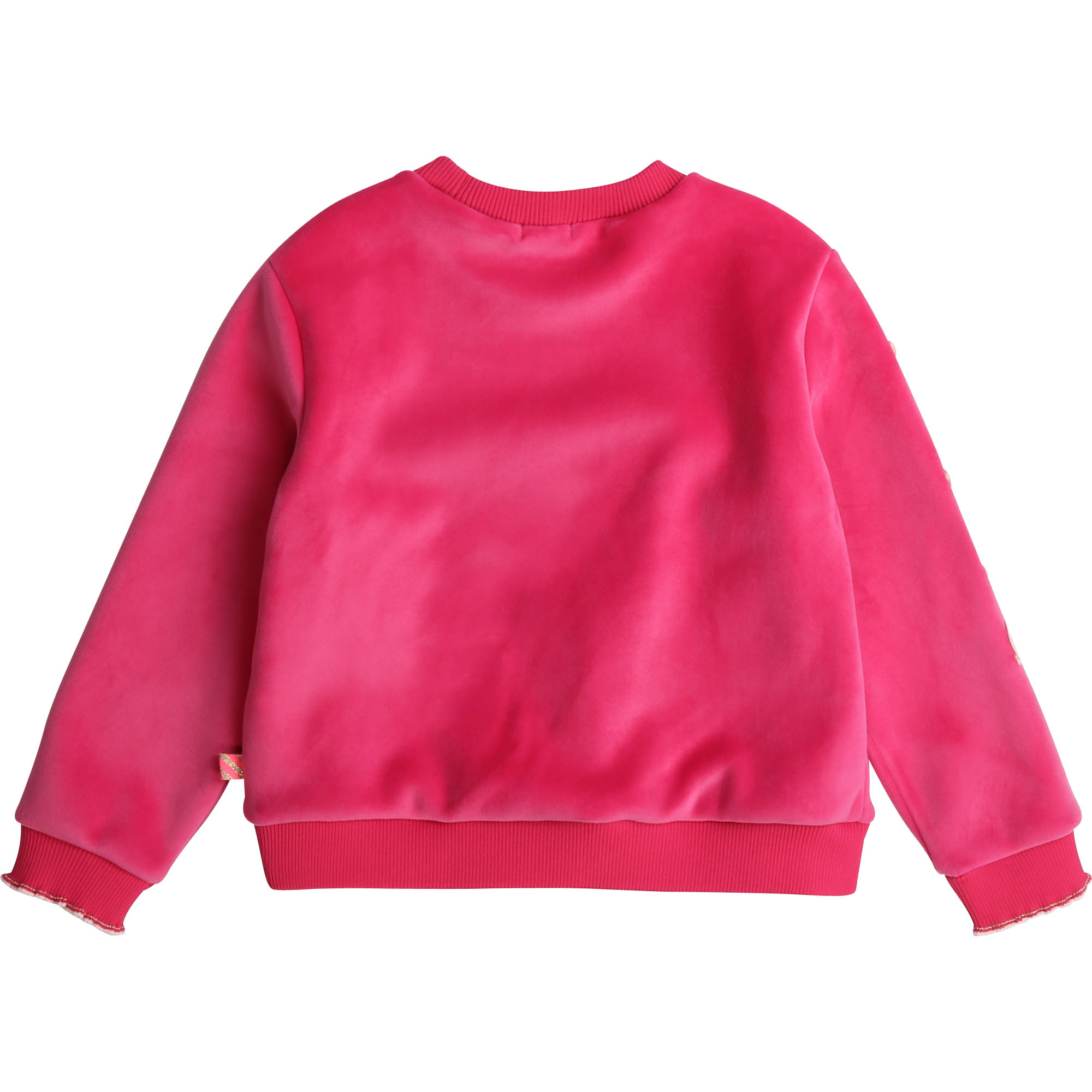 BILLIEBLUSH sweat en molleton velours-2